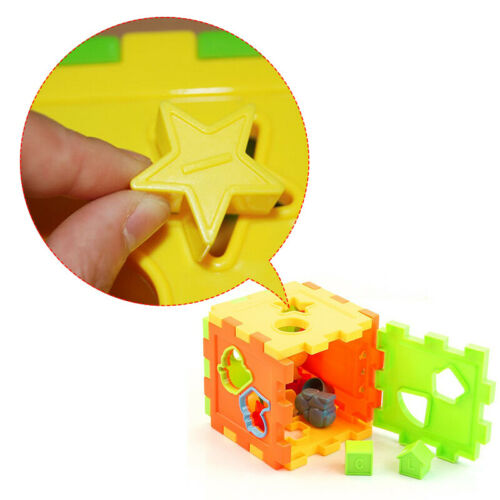 Educational Block Magic Cube Toys Baby Colorful Shape Sorting Great Kids Gifts