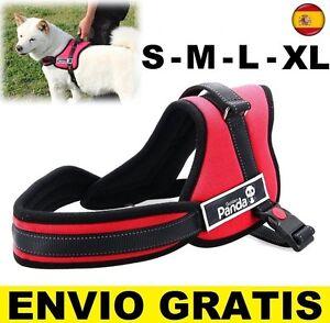 Arne para Perros TALLA S, M, L, XL, XXL rojo acolchado sports harness adiestrar