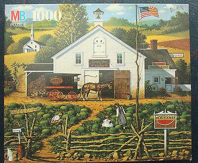 jigsaw puzzle 1000 pc Catchin Bugs Sleepy Fox Farms Charles Wysocki Americana
