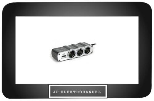 24V x3 mit USB Steckdose  //AD1// Auto Adapter Verteiler Zigarettenanzünder 12V