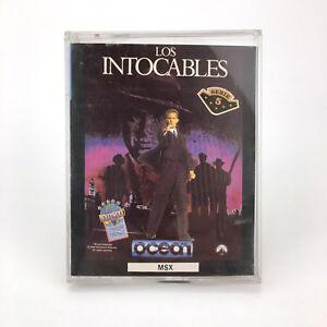 The-untouchables-Erbe-spain-ocean-1989-Al-Capone-Eliot-ness-mob-msx-cassette