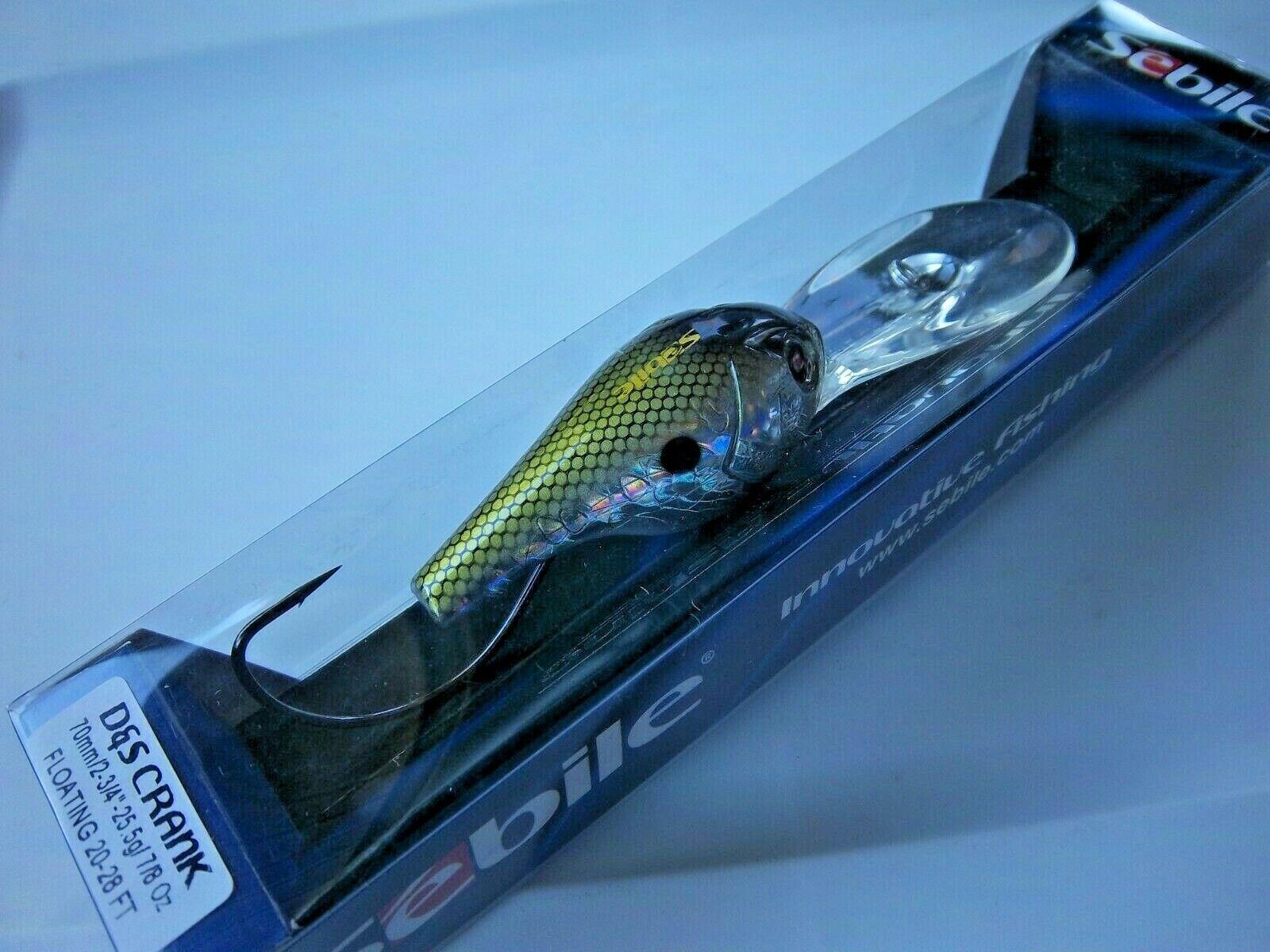 Holo Greenie Sebile D/&S Crank Floating 25,5g 70mm D9