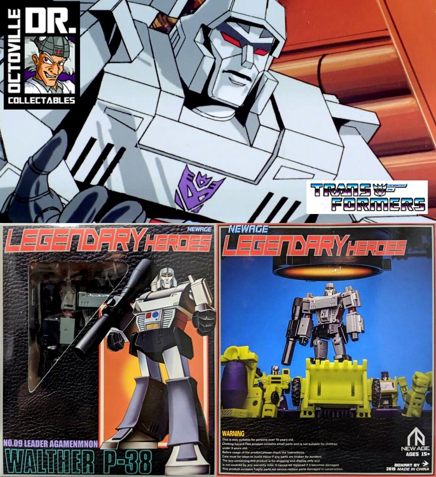 Transformers Newage H9 AgaSiemnon   Legends Scaled Megatron MISB
