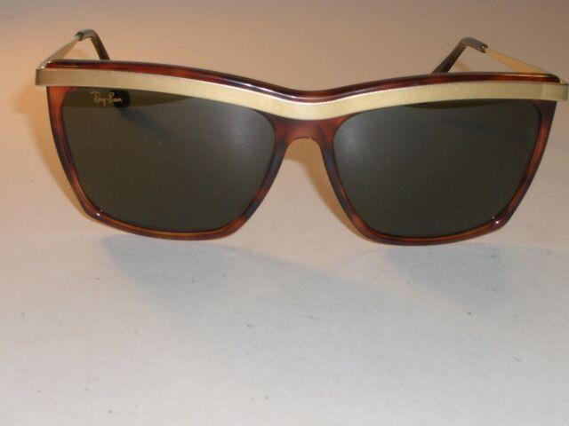 5e616811cb Vintage B l Ray-Ban W0742 Wwar Tort matte Gold Trim G15 Olympian III  Sunglasses