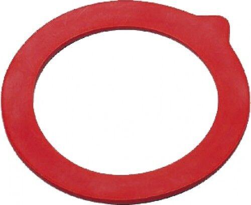 10er Pack Einkoch-Gummiringe Ø 65 x 90 mm Rot Einkochringe Einkochglas Einmachen