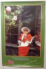 Original vintage travel Poster For Britain Emily Bronte