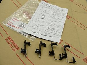 New Genuine Floor Mats Mat Hook Hooks Retention Clips Hold