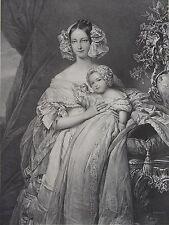 HELENE LOUISE ELISABETH DE MECKLEMBOURG SCHWERIN, DUCHESSE D'ORLEANS , 1870