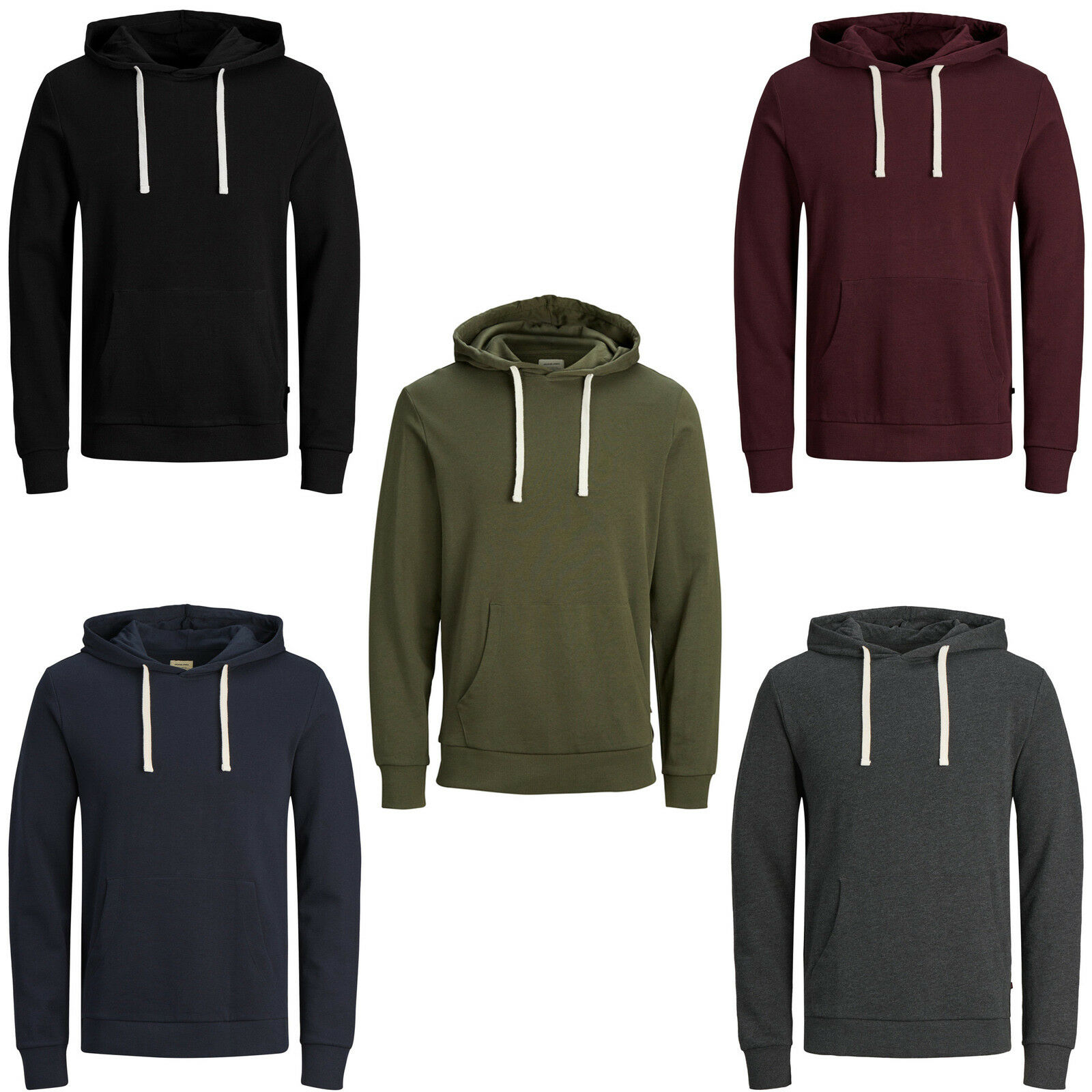 Jack & Jones Essentials Sweat À Capuche Hommes Casual à Sweat à Casual Capuche Pull jjeholmen 4f0fd5