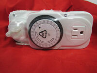 14new 2 Ikea Tanda 24 Hour Grounded Outlet Timers White Lot 20043 Factory Sealed