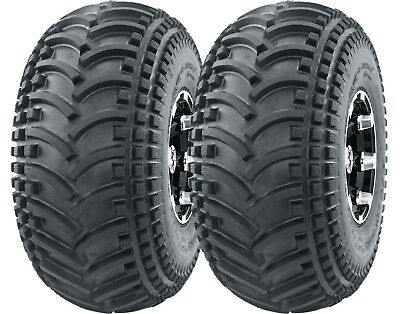 2 New ATV UTV Tires 22X11-8 22x11x8 DURABLE 4PR DEEP TREAD Mud Sand Hard Terrain