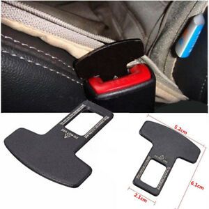 Image Is Loading Universal Car Safety Seat Belt Buckle Alarm Stopper