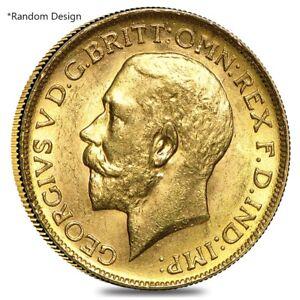 British-Gold-Sovereign-Coin-Random-Year