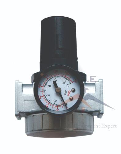 3/8 Air Compressor Regulator Industrial Grade W/ Pressure Gauge + Mount Bracket