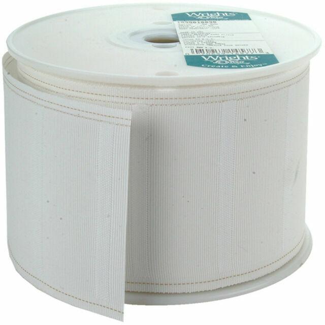 Regular White Wrights pleater Tape