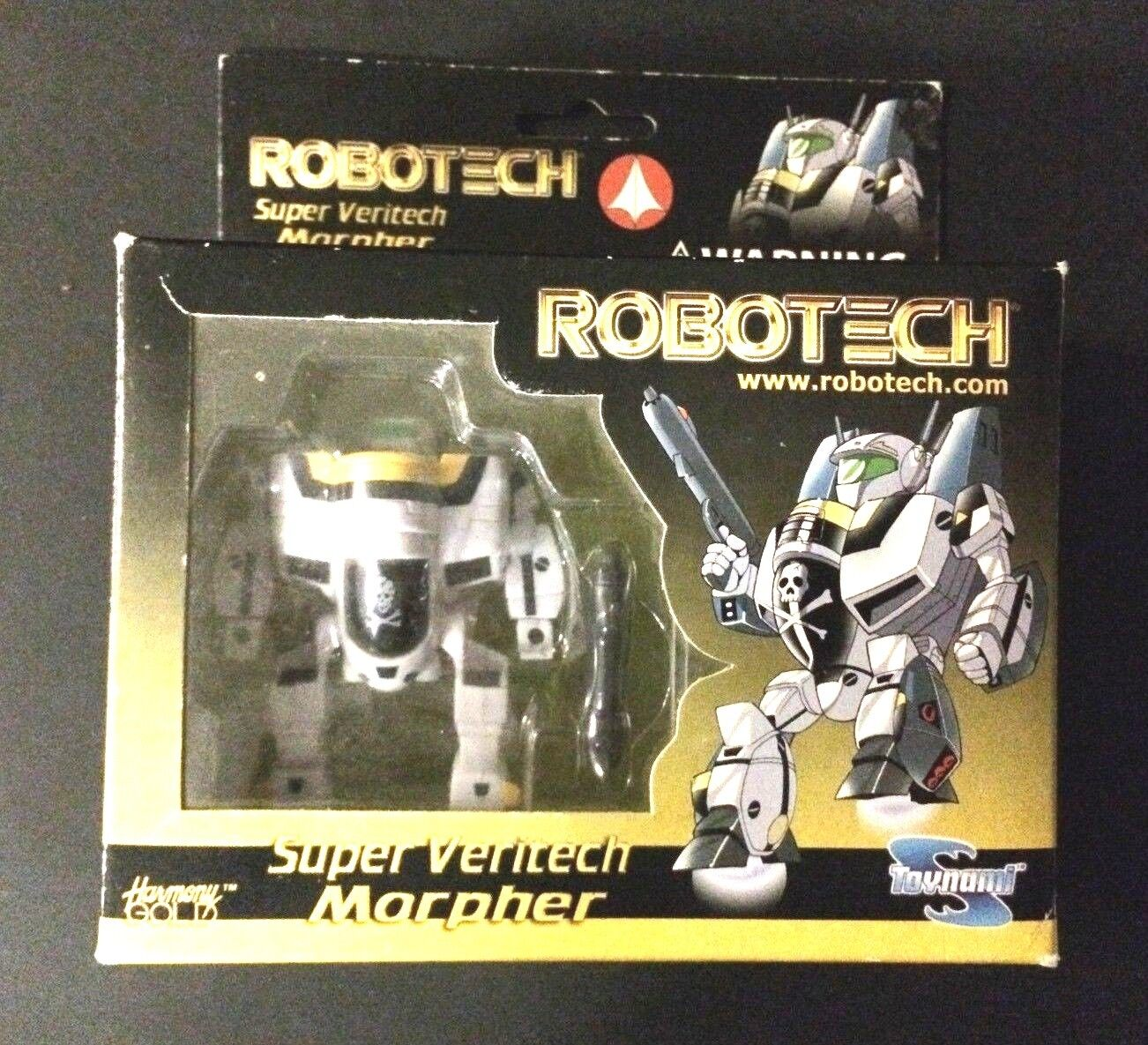 Robotech Super Veritech Morpher by Toynami | Very Good Condition in Box