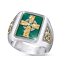 Men-039-s-Buffalo-925-Silver-Animal-Band-Ring-Women-Wedding-Party-Jewelry-Size-6-13 thumbnail 73