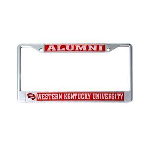 Western Kentucky University License Plate Frame Alumni