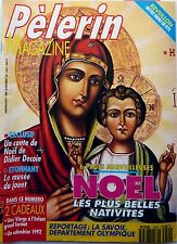 Mag PELERIN 1991: NOËL les plus belles nativités_ROCH VOISINE_JEAN-PAUL BELMONDO