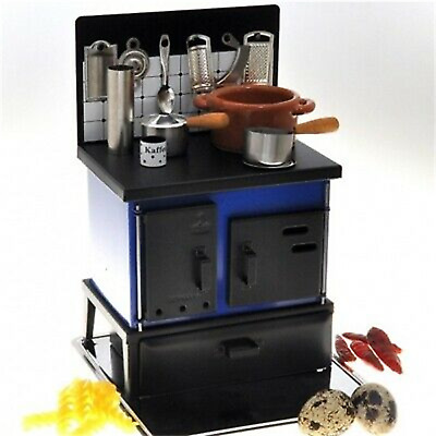 1:12 Dollhouse Miniature Stove Kitchen Cooking Accessories Wood Furniture Cute