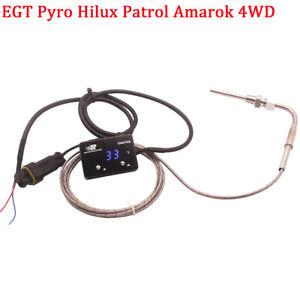 12V Digital Exhaust Temperature EGT Patrol Amarok 4WD Turbo Diesel Petrol