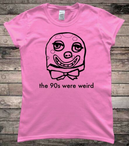 Mr Blobby 1990s 90s Funny Ladies T-Shirt