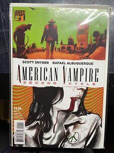 American Vampire Second Cycle #1 Vertigo NM! UNREAD!