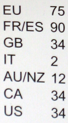 AE 4-14 Triumph reggiseno sublime Essence WH Nero Nuovo International sizes