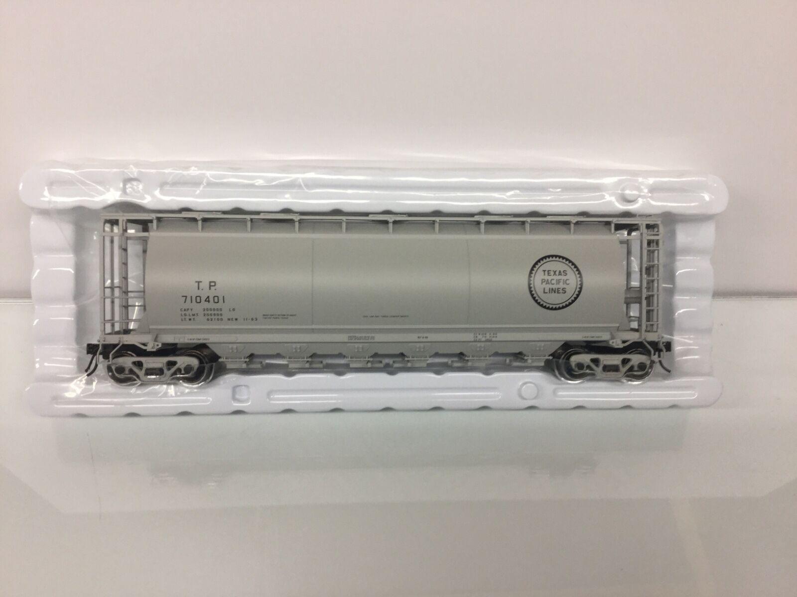 Atlas Texas & Pacific  6-Bay Cylindrical Hopper 2 Rail   O