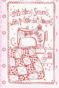 Stitching-Seams-fun-stitchery-PATTERN-includes-fabric-Rosalie-Dekker