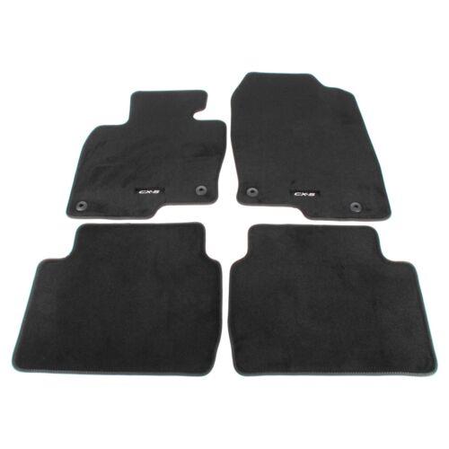 4-TLG KB8MV0320 KF ORIGINAL Mazda Textilmatten Fußmatten Automatten Satz CX-5