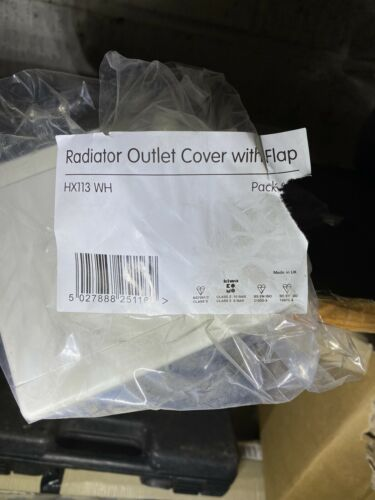 PACK OF 2 Hep2O Radiator Outlet Cover with Flap