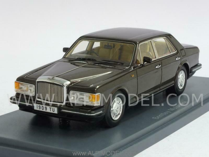 Bentley Mulsanne Rhd 1980 Metallic marron 1 43 NEO 44170