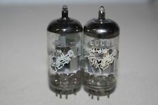 1960s SUPERB PAIR ECC88 6DJ8 AMPEREX BUGLE BOY HOLLAND AUDIO TUBES - TV7A/U++++