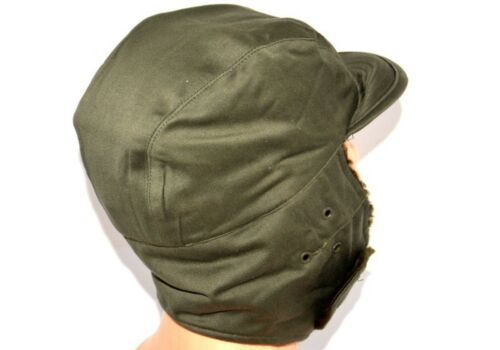 Kids Child Cap Hat Boys French Army Fur Winter Trapper Hat F1 Patrol Military