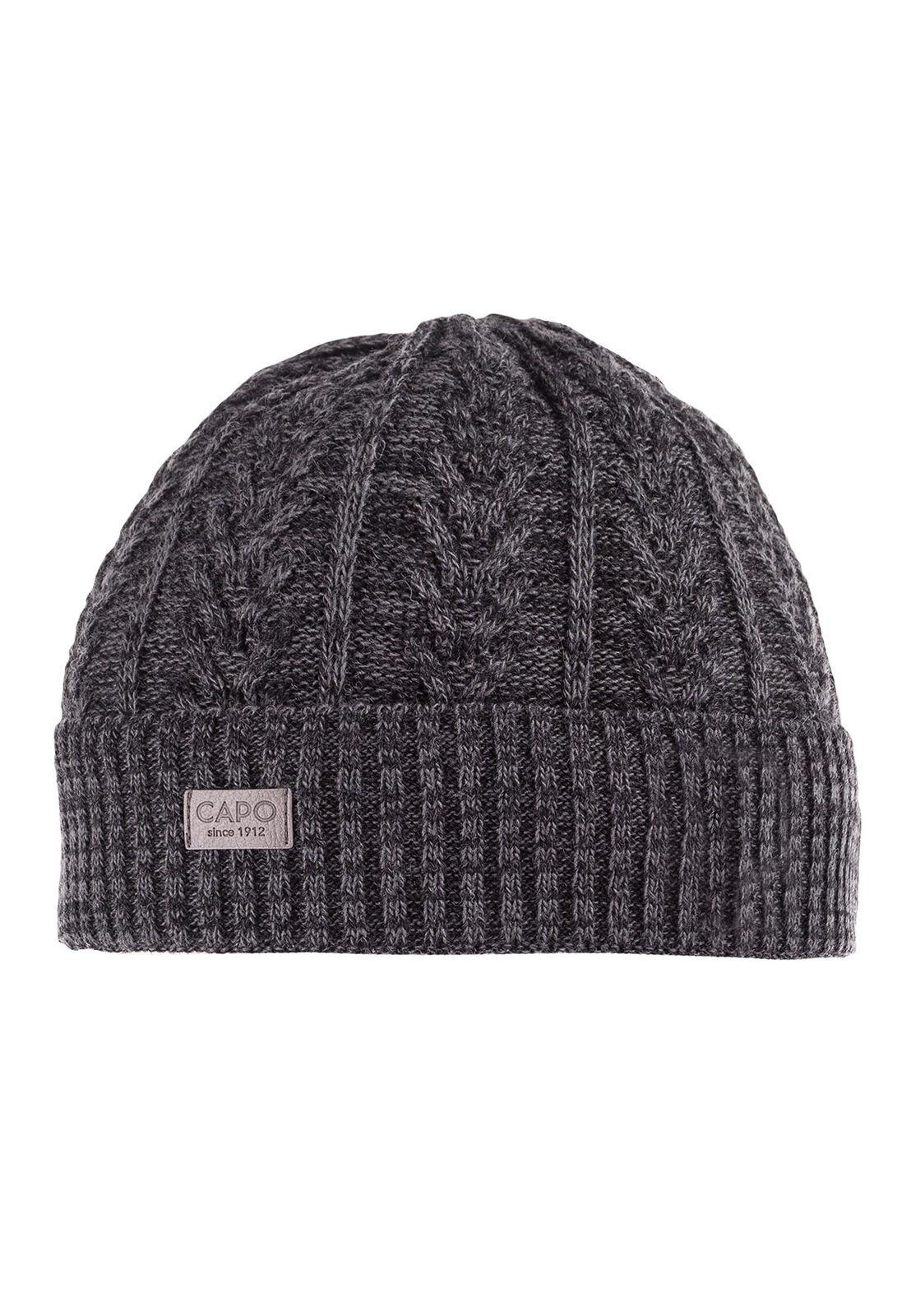 CAPO Mütze FIN CAP 80589-001760 Anthrazitgrau