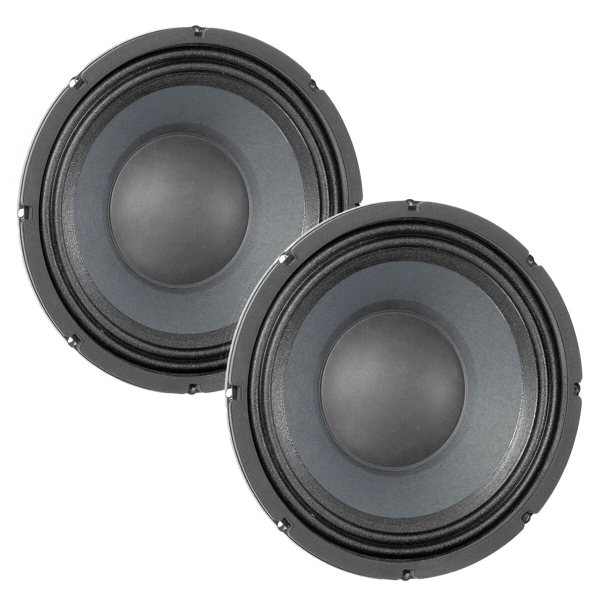 Pair Eminence Deltalite II 2510 10 inch Neo Woofer Replacement Speaker 8ohm 500W
