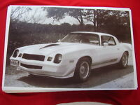 1979 Chevrolet Camaro Z28 11 X 17 Photo Picture