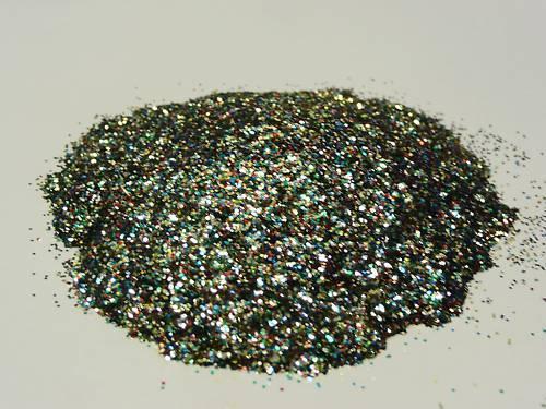 Powder Coat Paint Fishing Jig//Lure Polyflake Glitter Multi 1 oz