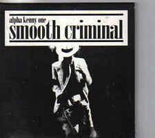 Alpha Kenny One Smooth Criminal cd maxi single cardsleeve eurodance Belgium