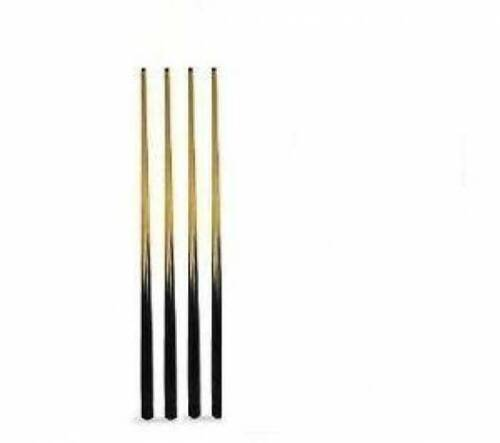 """4 x SHORT POOL CUES 36/"""" IDEAL FOR KIDS /& SMALL SPACES"""
