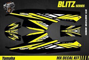 Kit Déco pour / Decal Kit for Jet SkiYamaha Super Jet - Blitz Yellow