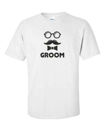 GROOM funny mens t shirt  gift groom wedding husband fiance party