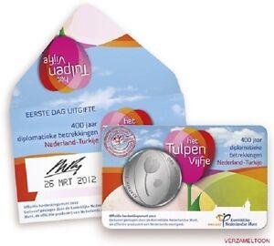 EERSTE-DAG-UITGIFTE-5-EURO-NEDERLAND-2012-034-TULPEN-VIJFJE-034