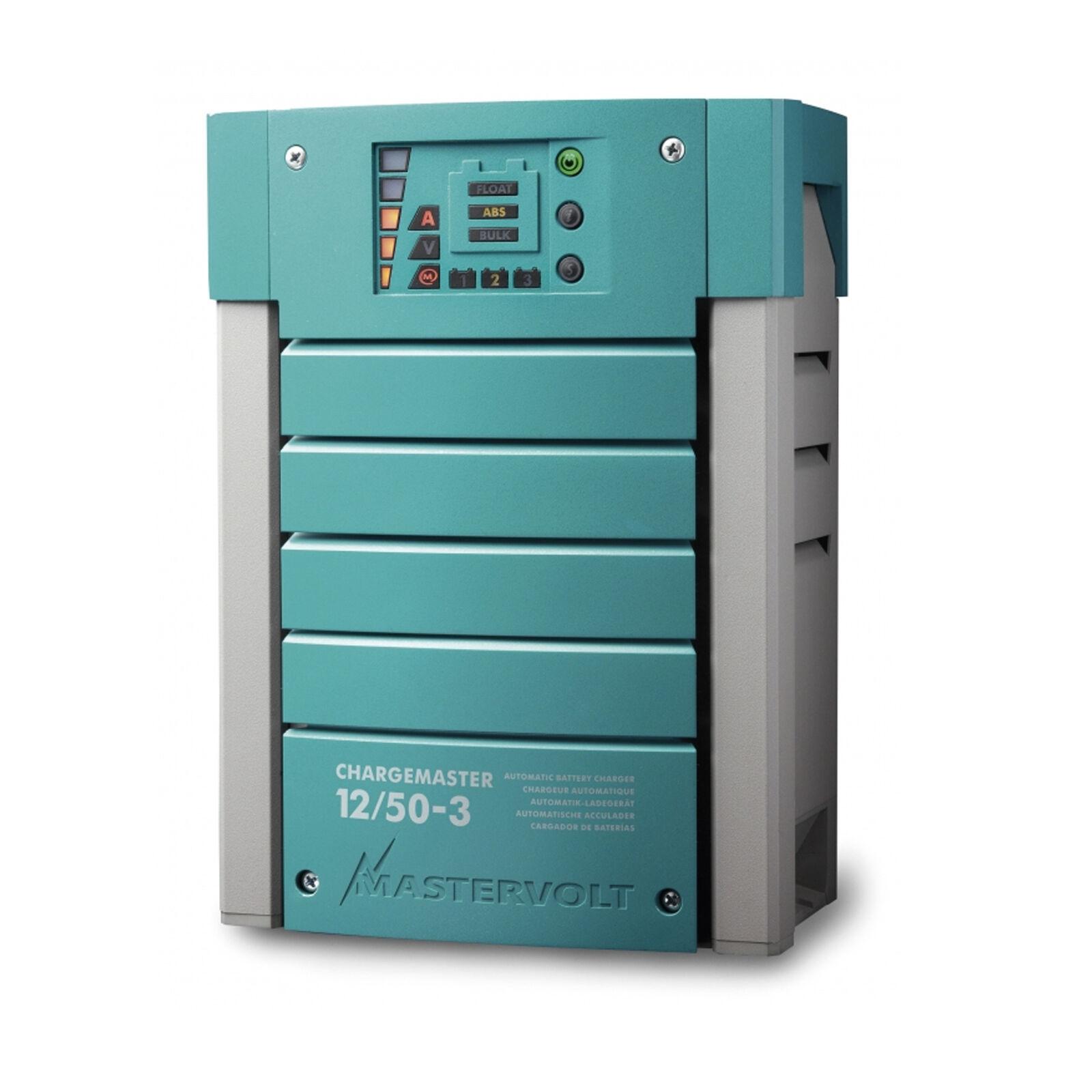 Mastervolt ChargeMaster 12/50 12V 3 Ausgänge 12V 12/50 50A Artikel-Nr.: 44010500 d54813