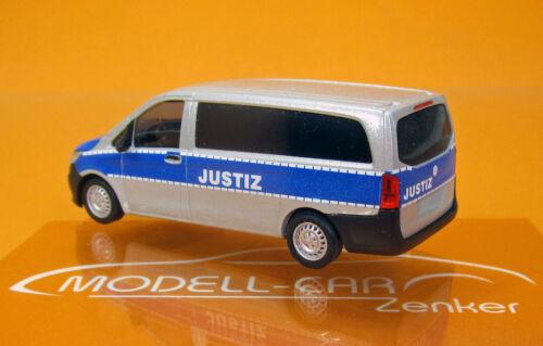 Busch MCZ 03-289 mercedes vito justicia Sajonia 1//87