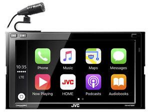 "JVC KW-M740BT 6.8"" 2-Din Car Media Receiver w/Apple CarPlay/Androi"