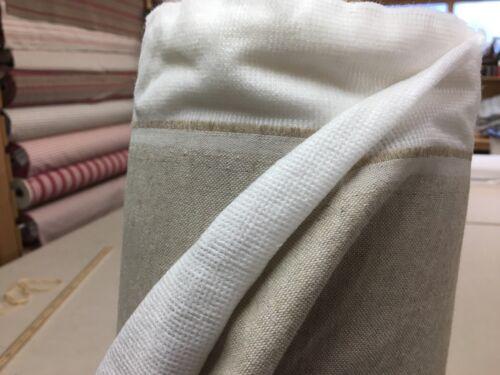 Thermal Bonded  Linen//Cotton  Biege  140cm  Wide Curtain Fabric