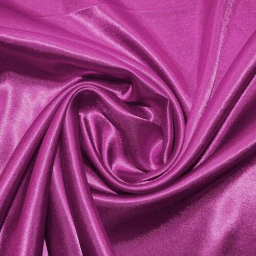 Magenta Economy Satin Fabric C2653