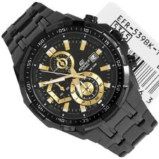 Casio  Edifice Men's Wristwatch  - EFR-539bk FULL BLACK  CHRONOGRAPH